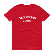 Load image into Gallery viewer, Black Veterans Matter - Unisex Short-Sleeve T-Shirt
