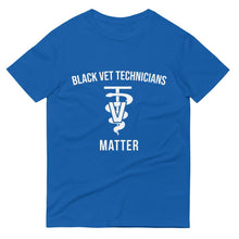 Load image into Gallery viewer, Black Veterinarian Technicians Matter - Unisex Short-Sleeve T-Shirt