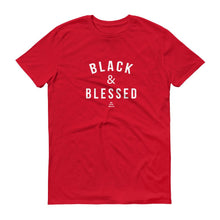 Black and Blessed - Men's Short-Sleeve T-Shirt