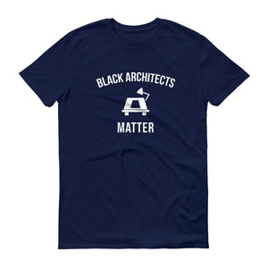 Black Architects Matter - Unisex Short-Sleeve T-Shirt