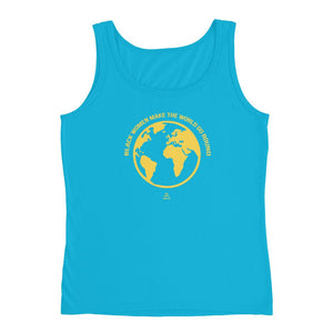 Black Women Make The World Go Round - Tank Top