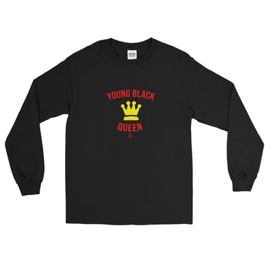 Young Black Queen - Long Sleeve T-Shirt