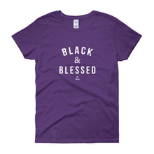 Black and Blessed - Women's short sleeve t-shirt