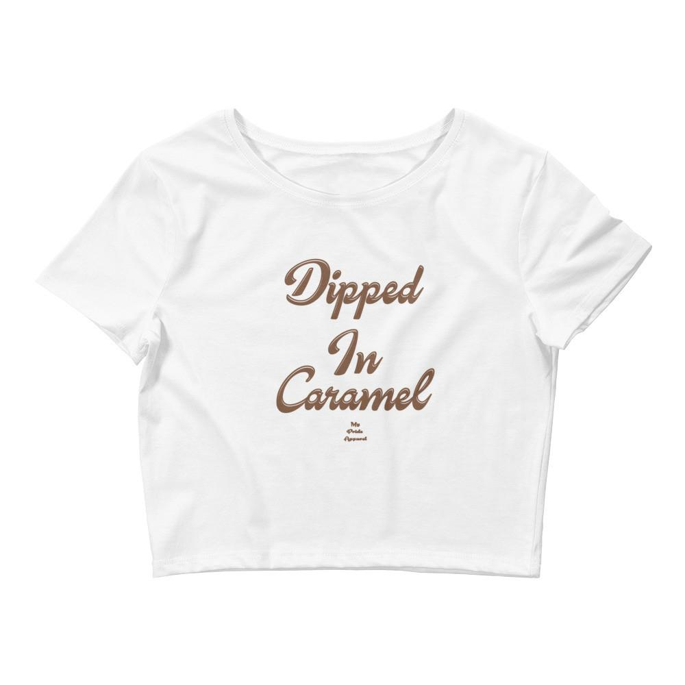 Dipped In Caramel - Crop Top