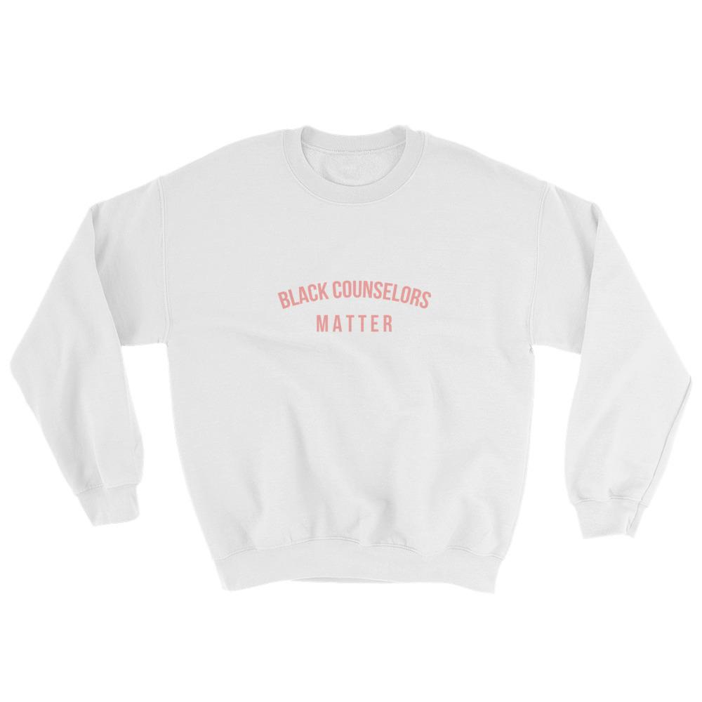 Black Counselor Matter - Sweatshirt