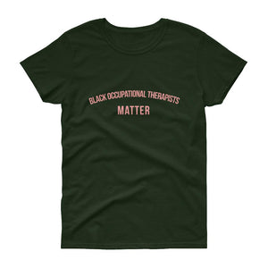 Black Occupational Therapists - Women's short sleeve t-shirt