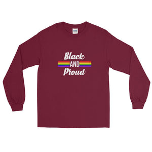 Black and Proud (Proud) - Long Sleeve T-Shirt