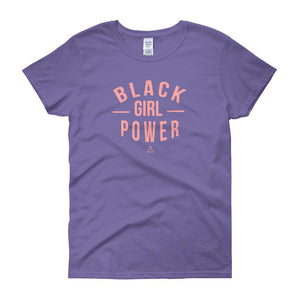 Black Girl Power - Women's short sleeve t-shirt