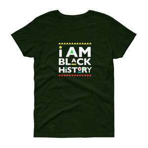 I Am Black History (Martin Font) - Women's short sleeve t-shirt