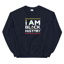 Load image into Gallery viewer, I Am Black History (Martin Font) - Sweatshirt