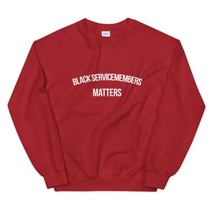 Black Servicemembers - Unisex Sweatshirt