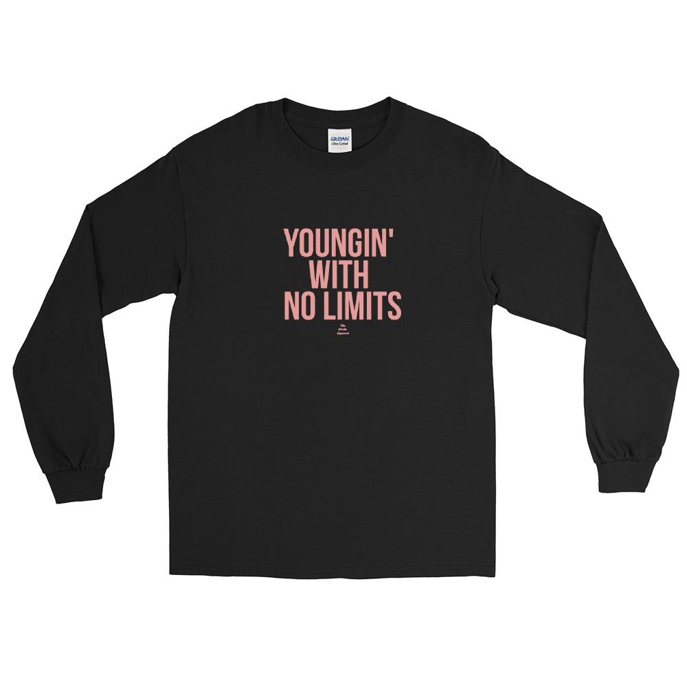 Youngin With No Limits - Long Sleeve T-Shirt