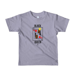 Black Queen Card - Toddlers T-shirt