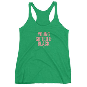 Young gifted and Black - Women's tank top