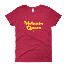 Melanin Queen - Women's short sleeve t-shirt