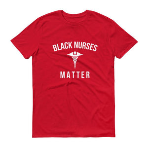 Black Nurses Matter - Unisex Short-Sleeve T-Shirt