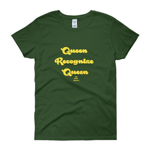 Queen Recoginze Queen - Women's short sleeve t-shirt