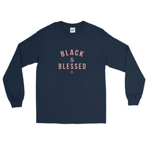 Black and Blessed - Long Sleeve T-Shirt