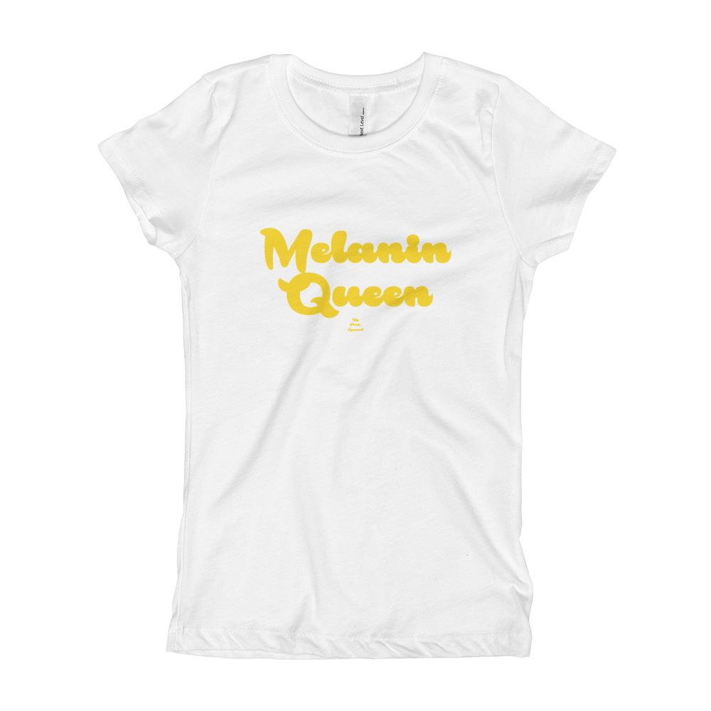 Melanin Queen - Girl's T-Shirt (Youth)