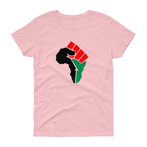 African Fist - Women's short sleeve t-shirt