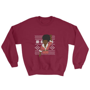 Woke Christmas (Medium Melanin) - Sweatshirt