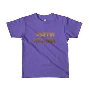 Drippin Melanin - Toddlers T-shirt