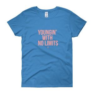 Youngin' With No Limits - Women's short sleeve t-shirt