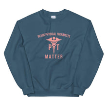 Load image into Gallery viewer, Black Physical Therapists (logo) - Sweatshirt