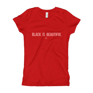 Black is Beautiful - Girl's T-Shirt (Youth)