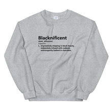 Load image into Gallery viewer, Blacknificent - Sweatshirt