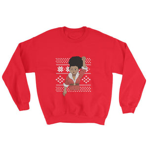 Woke Christmas (Light Melanin) - Sweatshirt