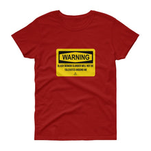 Load image into Gallery viewer, Warning Slander - Women's short sleeve t-shirt