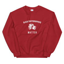 Load image into Gallery viewer, Black Photographers Matter - Unisex Sweatshirt