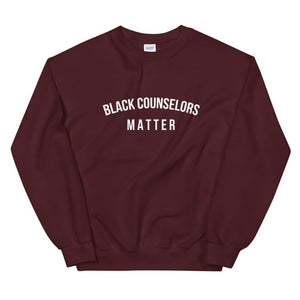 Black Counselors Matter - Unisex Sweatshirt