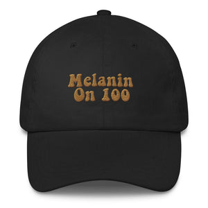 Melanin on 100 - Classic Hat