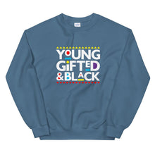 Load image into Gallery viewer, Young Gifted and Black (Martin Font) - Sweatshirt