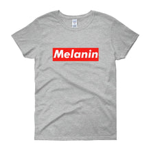 Load image into Gallery viewer, Melanin (Tag) - Women's short sleeve t-shirt
