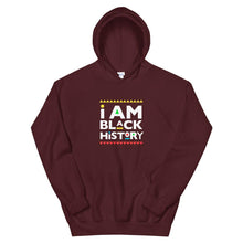 Load image into Gallery viewer, I Am Black History (Martin Font) - Hoodie