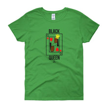 Black Queen Card - Women's short sleeve t-shirt