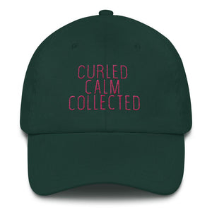 Curled Calm Collected - Classic hat