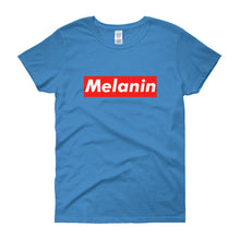 Melanin (Tag) - Women's short sleeve t-shirt