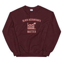 Load image into Gallery viewer, Black Accountants Matter (Logo) - Sweatshirt