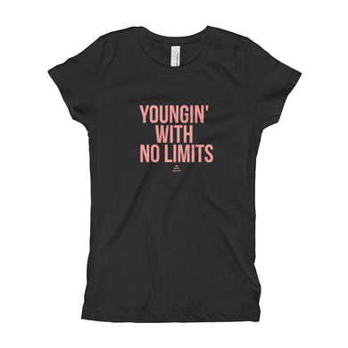 Youngin With No Limits - Girl's T-Shirt (Youth)