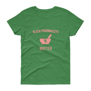 Black Pharmacists Matter (logo) - Women's short sleeve t-shirt