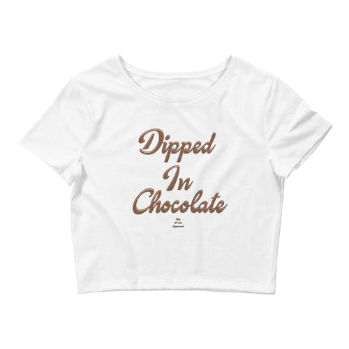 Dipped In Chocolate - Crop Top