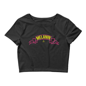 Melanin Banner - Crop Top