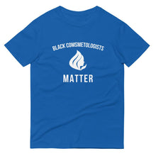 Black Cosmetologists Matter - Unisex Short-Sleeve T-Shirt