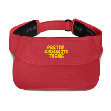 Pretty Chocolate Thang - Visor