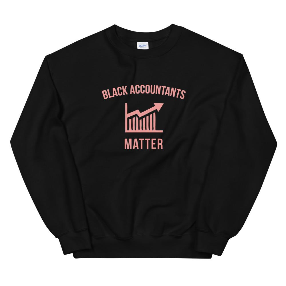 Black Accountants Matter (Logo) - Sweatshirt