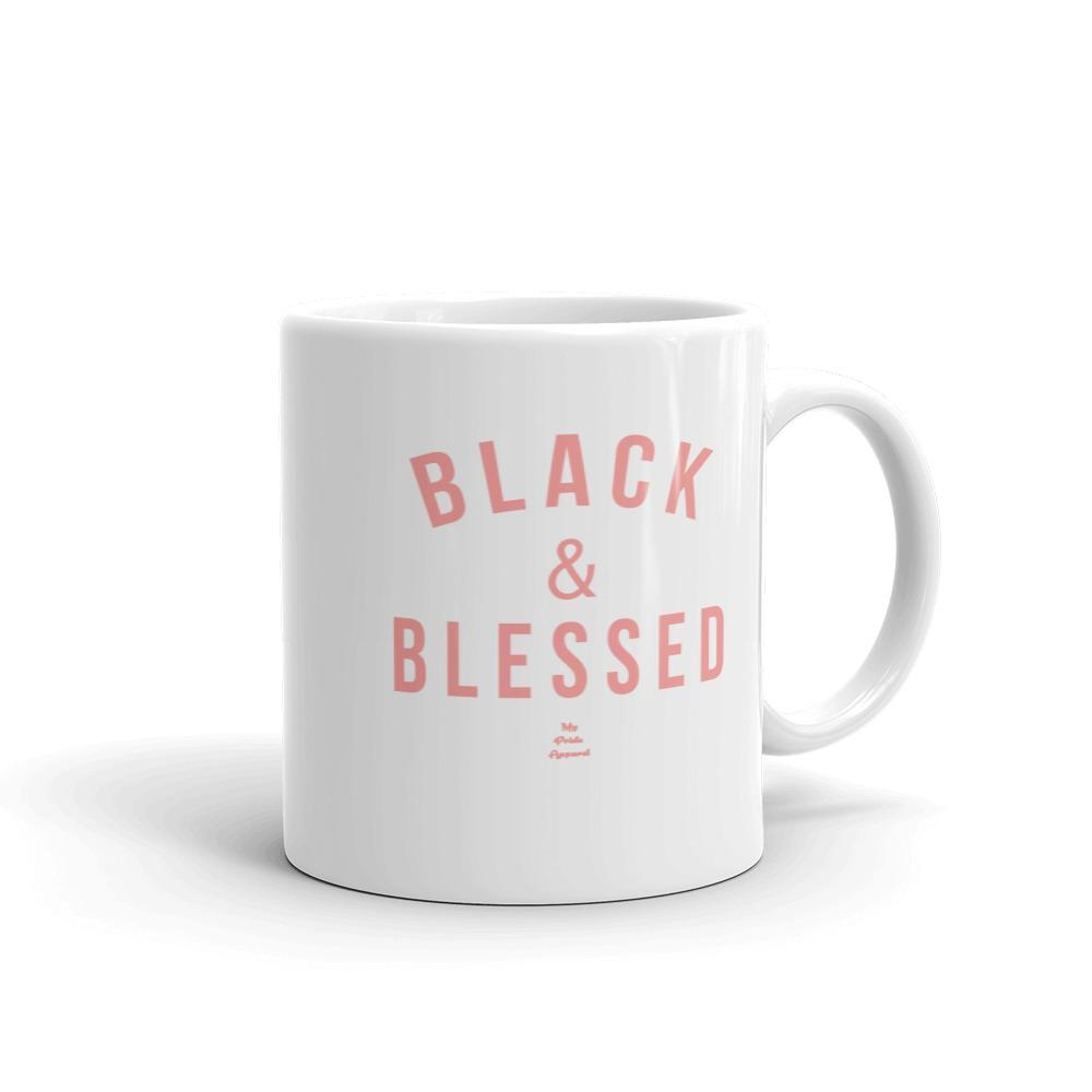 Black and Blessed - Mug